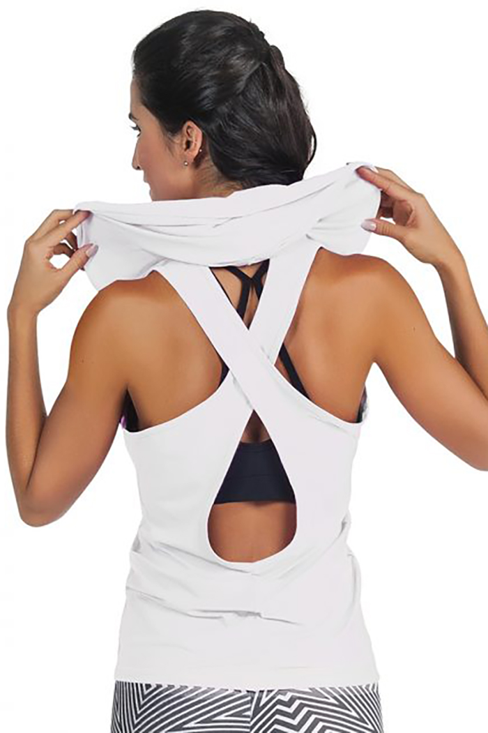activewear mesh top