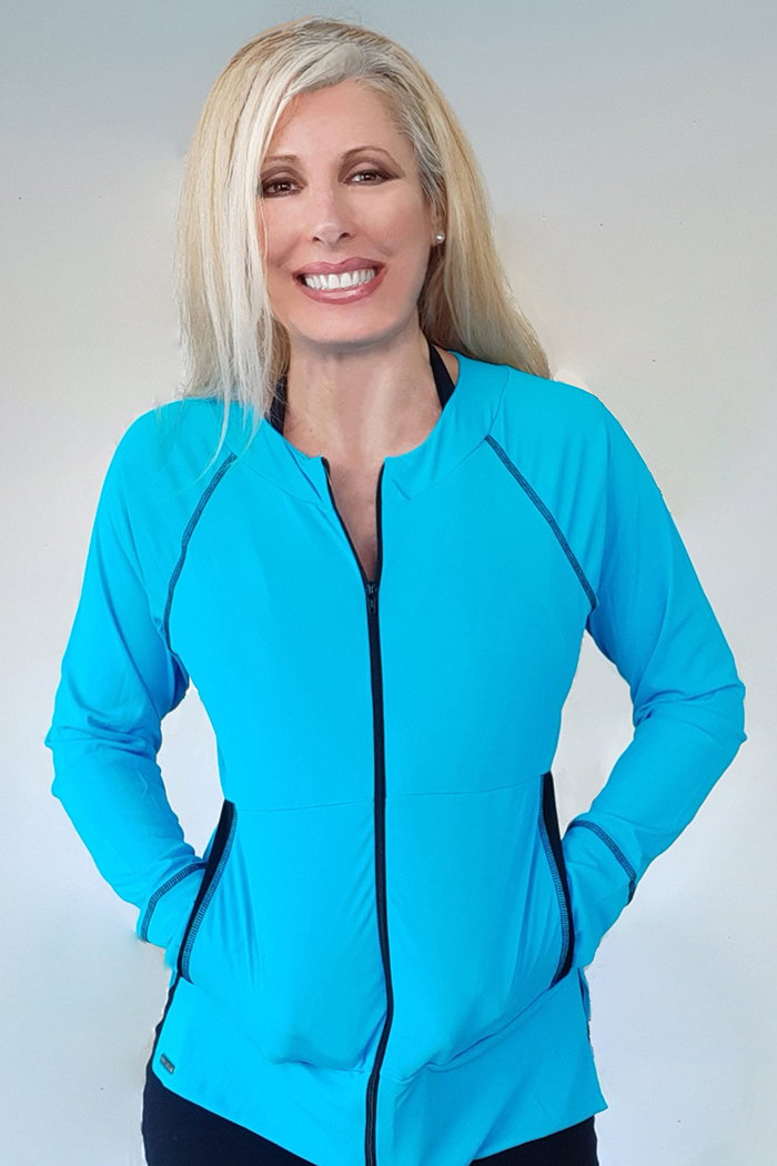 exercise jacket for women